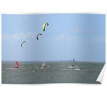 Redcliffe Kites Poster