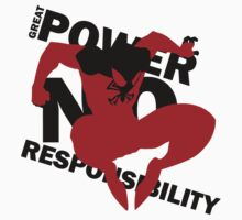 Scarlet Spider – Great power, no responsibility Baby Tee