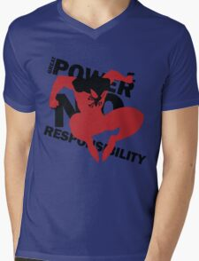Scarlet Spider – Great power, no responsibility Mens V-Neck T-Shirt