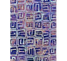 Geometric Square Photographic Print