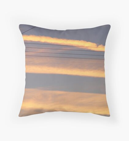 skylines. Throw Pillow