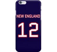 New England Football (I) iPhone Case/Skin
