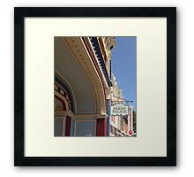 The Candy Palace Framed Print
