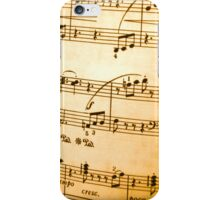 Music Sheet iPhone Case/Skin