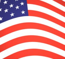 AMERICA, American Flag, Fly the Flag, Flutter, Stars & Stripes, USA Sticker