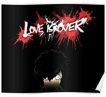 Love Is Over - Vincent Stare Poster