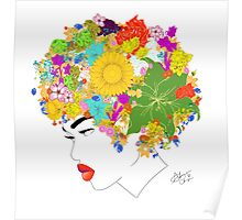 Flower 'Fro ver. 3 Poster