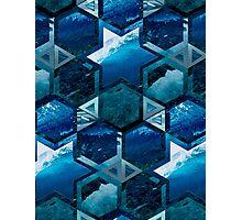 Psychedelic Ocean Photographic Print