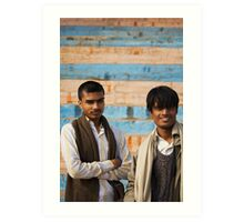 Fragments of Richness: An Indian Expose - curious eyes Art Print