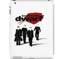Boys from the Dwarf iPad Case/Skin