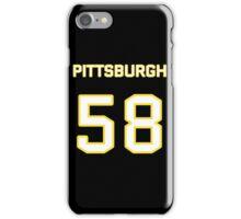 Pittsburgh Football (I) iPhone Case/Skin