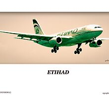 Etihad Airbus - OTR Landings - Part II by Paul Lindenberg