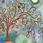Wisteria tree by sue mochrie
