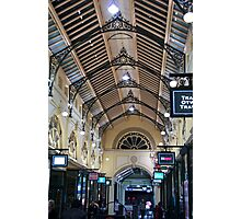 Melbourne arcade Photographic Print