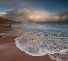 Gibson's Beach Rainbow by annibels