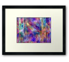 Abstract Composition #1 - April 21, 2010 Framed Print