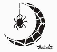 Spidey Moon by anatunkia