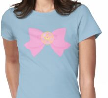 Pastel Sailor Moon Crystal Star Locket and Bow Womens Fitted T-Shirt