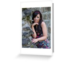 Beauty in Ancient stones Greeting Card