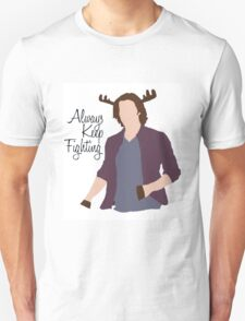 Always Keep Fighting Moose Jared T-Shirt