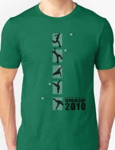 South Africa World Cup 2010 Flash Kick Tee (with text) Tee T-Shirt