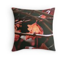 Autumn Vine Throw Pillow