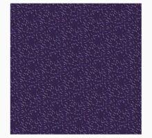Purple Amoeba One Piece - Long Sleeve