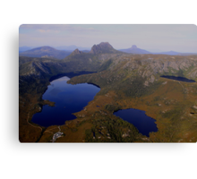Cradle Mountain, from a Birds Eye View! Canvas Print