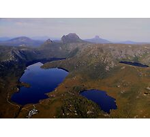 Cradle Mountain, from a Birds Eye View! Photographic Print