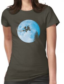 Taking Her to the Moon Womens Fitted T-Shirt