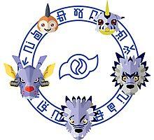 Digimon: Crest of Friendship Photographic Print