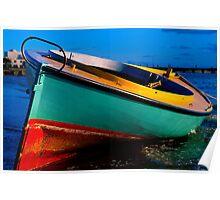 Coota Boat Apres Storm Poster