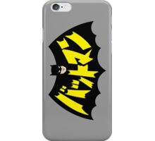 Retro Japanese Batman iPhone Case/Skin