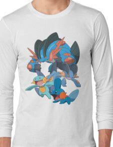 mudkip's family Long Sleeve T-Shirt