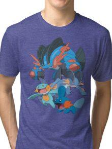 mudkip's family Tri-blend T-Shirt