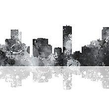 Denver Colorado Skyline by Marlene Watson