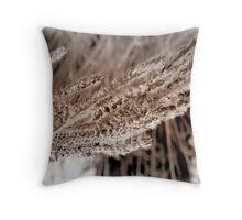 seed fur Throw Pillow