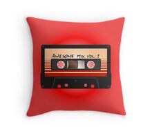 Awesome Mix Vol. 1 Throw Pillow