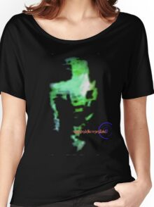 Psychedelic NeverLand: Tha Green Goop Women's Relaxed Fit T-Shirt