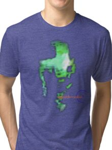 Psychedelic NeverLand: Tha Green Goop Tri-blend T-Shirt