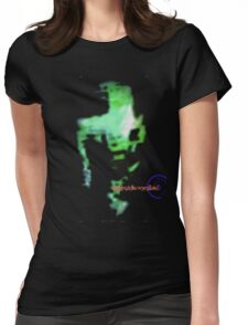 Psychedelic NeverLand: Tha Green Goop Womens Fitted T-Shirt
