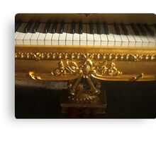 Gilded Keys Canvas Print