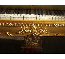 Gilded Keys Photographic Print
