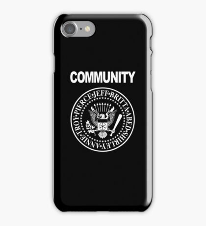 Community - Great Seal of the Study Group iPhone Case/Skin
