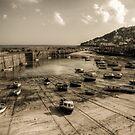 Mousehole boats by Simon Marsden
