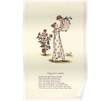 LIttle Ann and Other Poems by Jane and Ann Taylor art Kate Greenaway 1883 0052 The Baby's Dance Poster
