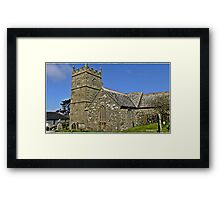 """"""" Witchcraft was once practiced here"""" Framed Print"""