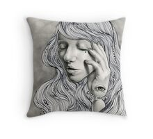 Cassandra's Sorrow  Throw Pillow