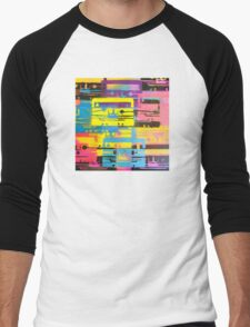 Rainbow Mixed Tape  Men's Baseball ¾ T-Shirt