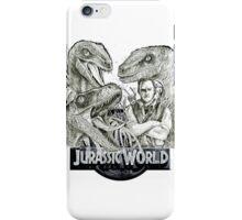 Hand Drawing Jurassic World iPhone Case/Skin